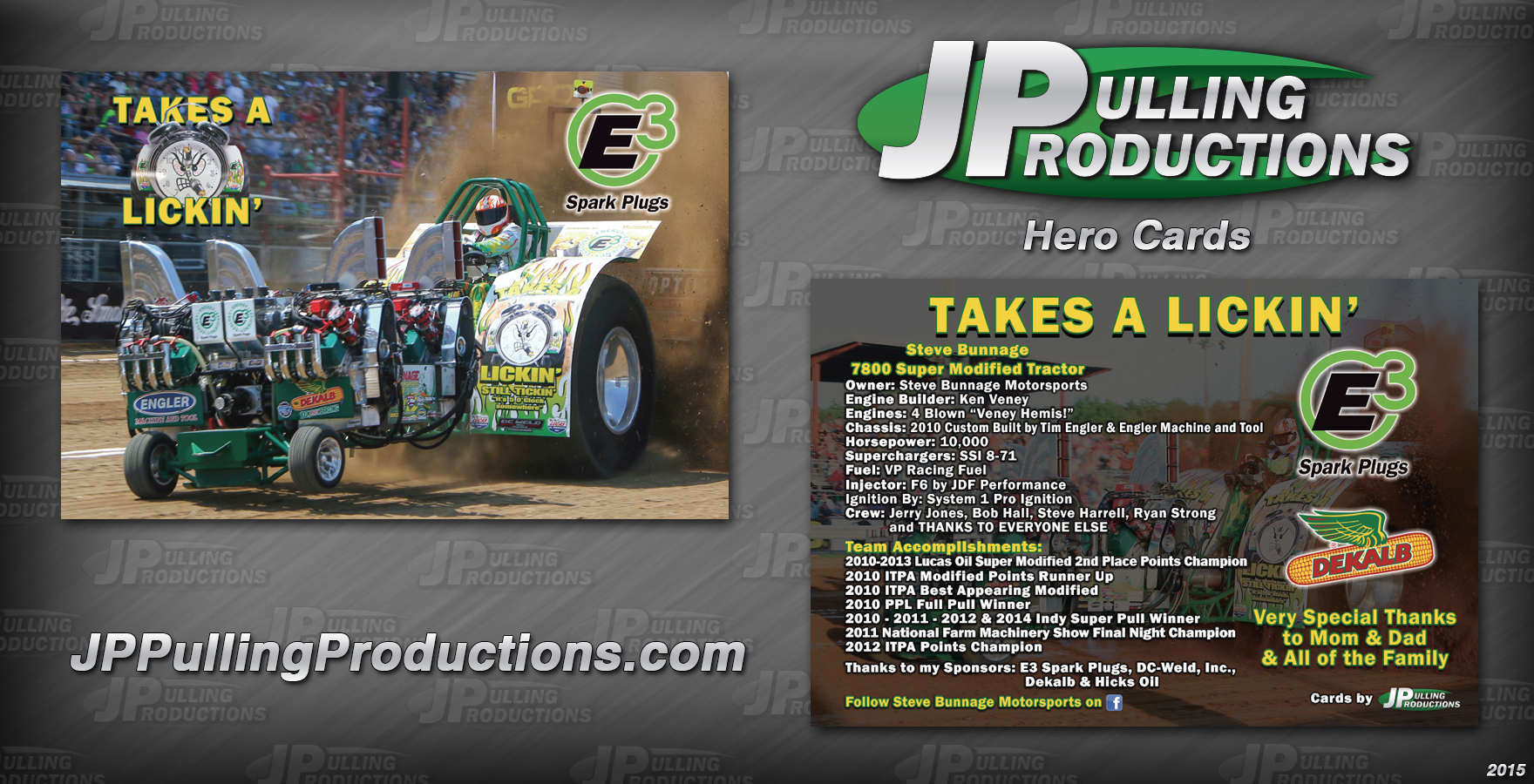 Hero Cards – JP Pulling Productions